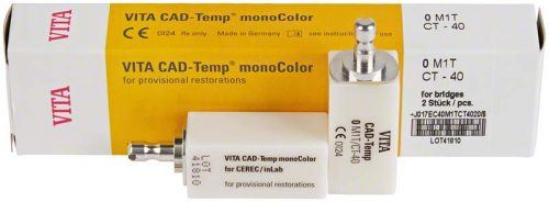 VITA CAD-Temp monoColor для CEREC/inLab, колір 0M1T, 10шт