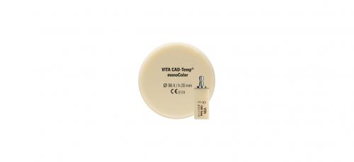 VITA CAD-Temp monoColor диск, колір 1M2T, Ø 98мм, h 20мм