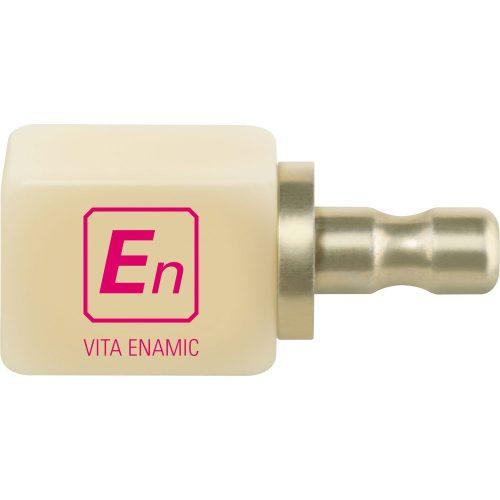 VITA ENAMIC блок підвищеної транслюцентності для CEREC inLab, колір 1M2-HT, розмір EM-14, 5шт