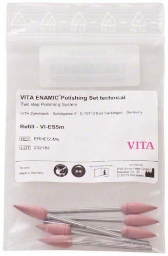 VITA ENAMIC полірування технічний додатковий, рожеві головки, 6шт