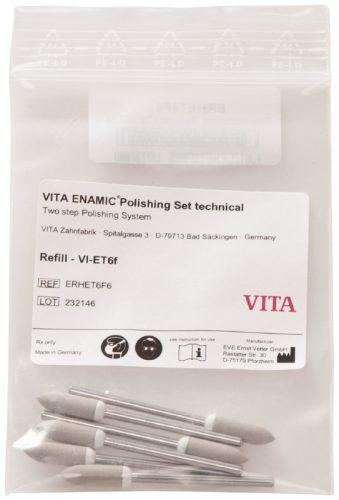 VITA ENAMIC полірувальний технічний додатковий, сірі торпедо, 6шт
