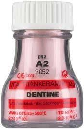 VITA TITANKERAMIK дентин, колір A2, EN2, 12г