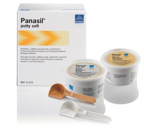 Panasil putty soft, м'яка  база, 2х450мл