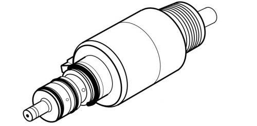 QUATTROcare 2104/2104A з'єднання для турбін BienAir