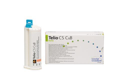 Telio CS C&B матеріал для тимчасових коронок, колір A1, 80г