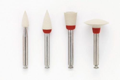 OptraPol Полір з алмазним зерном для одноетапного полірування композитів, а також амальгами, форма чашка, 10шт