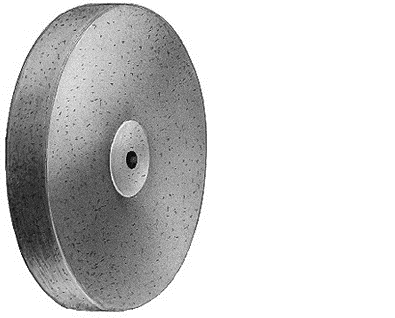 Полір для сплавів благородних металів та акрилів, форма дископодібна, діаметр 220 (1шт)