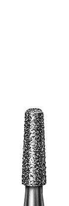 Діамантовий бор, форма конус, круглий край, зернистість дрібна, діаметр 018