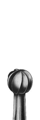 Бор твердосплавний, форма кругла, зернистість середня, діаметр 010