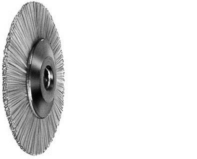 Щітка з козячої щетини, форма кругла, діаметр 220