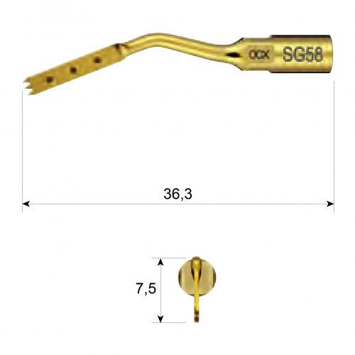 Насадка SG58 до VarioSurg3, SG58