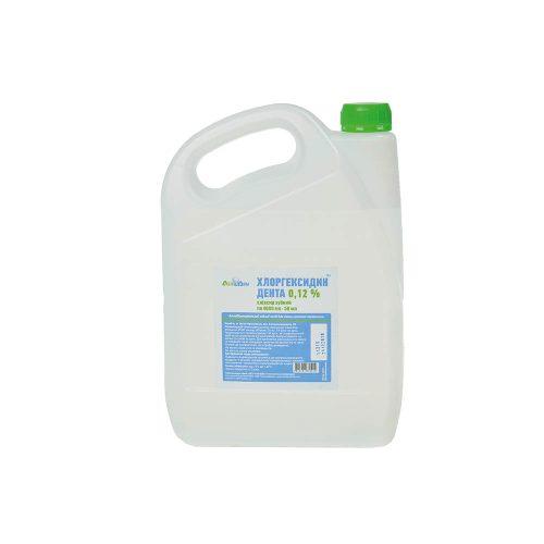 Хлоргексидин Дента 0,12% Еліксир зубний Антибактеріальний рідкий засіб ємність по 4000мл, 4000мл