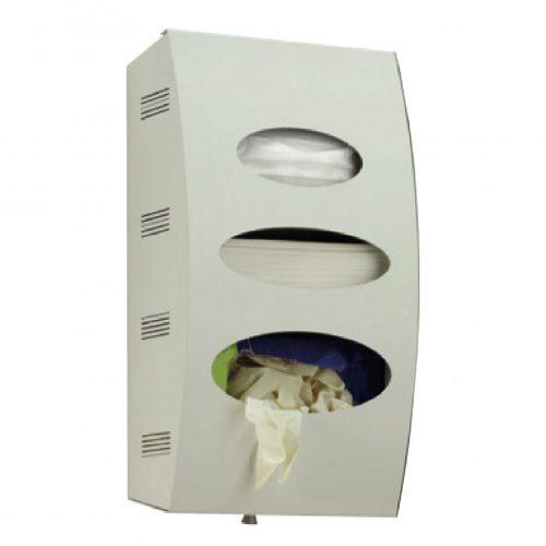 Модуль гігієни MDV 972 (250x460x125мм) для рукавиць, серветок і масок
