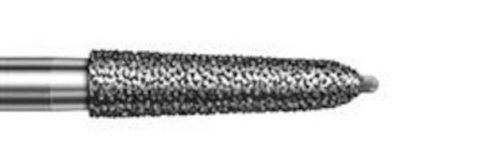 Діамантовий бор, форма конусоподібний похилий уступ, торпеда, зернистість середня, діаметр 021